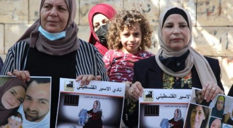 Palestinians Rally Demand Release of Pregnant Detainee in Israel