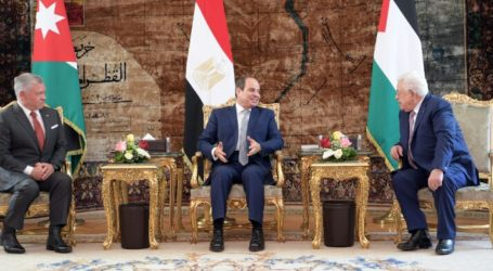 Trilateral Summit Gathers Abbas, Al-Sisi and King Abdullah in Cairo