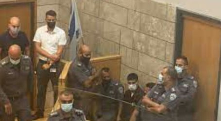 Israeli Occupation Presents Four Prisoners in Court