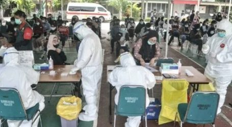 Covid-19 Cases in Indonesia Decreases to 3,779 Cases