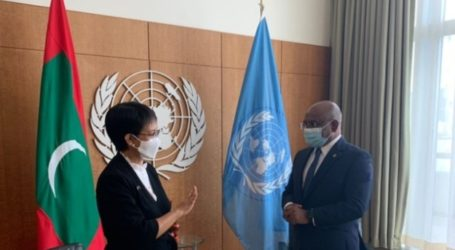 Minister Retno Meets with the President of the 76th UNGA