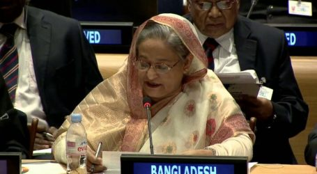 Bangladesh Urges World Leaders to Help Overcome Rohingya Crisis