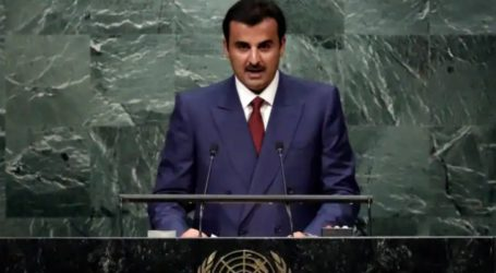 Qatar Calls for Support for Palestine at 76th UN General Assembly