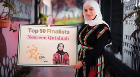 A Palestinian Teacher Included on the list of 50 Best Teachers in the World