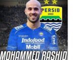 Mohammed Rashid from Palestine Plays for Indonesian Football Club