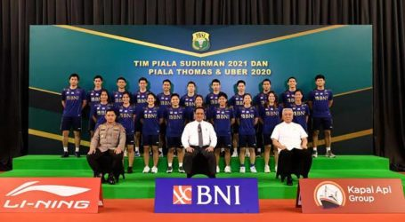 Indonesian Badminton Team Depart to Finland for Sudirman Cup