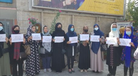 Kabul Women Rally for Rights in Afghanistan