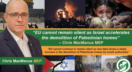 EU Cannot Remain Silent about Demolition of Palestinian Homes