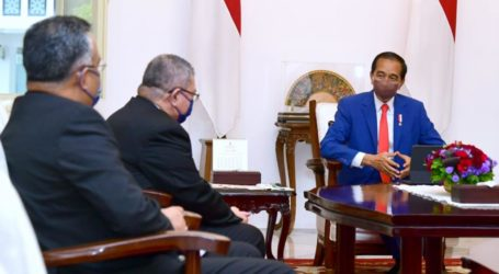 President Jokowi Receives Malaysian Foreign Minister's Visit