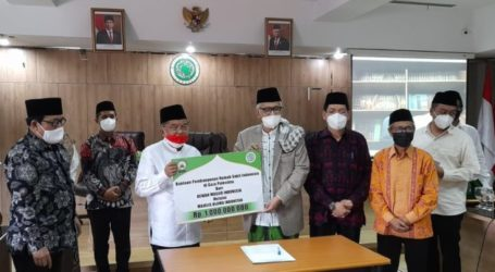 DMI Donate IDR 1 Billion for Construction of Indonesian Hospital in Hebron