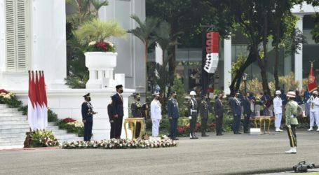 President Jokowi Leads 76th Anniversary of Indonesian National Armed Forces