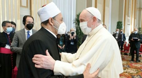 Grand Imam Al-Azhar, Pope Francis Committed to Addressing Climate Change