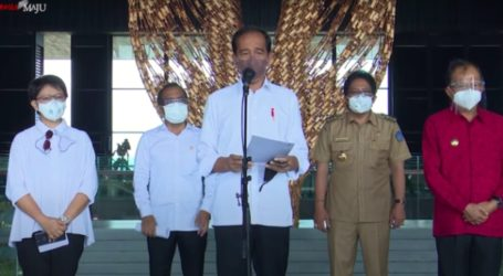 President Jokowi Visits Preparations for G20 Summit in Bali