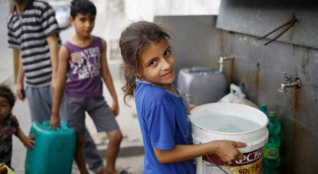 NGOs: Israel Long Siege on Gaza Caused Serious Water Insecurity